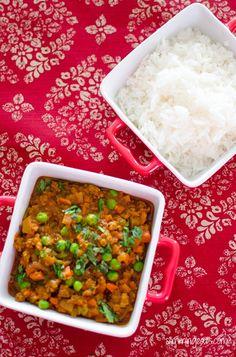 Keema Curry - Slimming World Baby Food Recipes, Indian Food Recipes, Diet Recipes, Cooking Recipes, Healthy Recipes, Healthy Foods, Recipies, My Slimming World, Slimming Eats