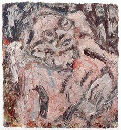 Portrait of Chaim - Leon Kossoff