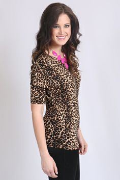 Leopard Top $29