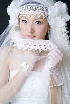 Ivory White Bridal Veils