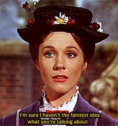 When she didn't take any of Bert's shit: | Community Post: 14 Times Mary Poppins Was The Undisputed Queen Of Sass
