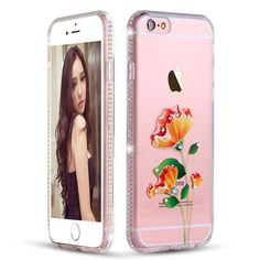 Pink Silicone Case Cover For iPhone 6