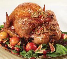 Pavo relleno, una de las mejores opciones para tu cena de Navidad.
