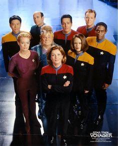 Star trek voyager cast season 7 by chakotay-voyager.deviantart.com on @deviantART