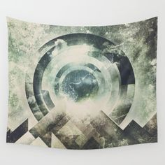 Wall tapestry Moon travel by HappyMelvin
