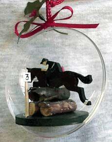 Christmas Ornaments, Christmas Horse Ball Ornaments, Horse Christmas Gifts.