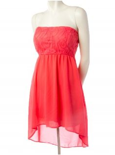 Simple and Classic Coral Pretty Outfits, Pretty Dresses, Beautiful Dresses, Cute Outfits, Cute Summer Dresses, Dresses For Teens, Summer Outfits, Night Outfits, Fashion Outfits