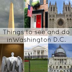 Things to see and do in Washington D.C.-- found on www.thefabblog.com