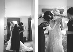 Bridal prep Samantha and Dean's wedding at Rossett Hall Hotel, part one — Raymond Jones Images