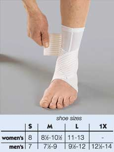 Dual Strap Ankle Support.