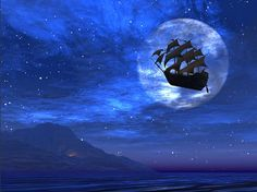 would be cool to somehow project a pirate ship image onto a backdrop... hmmmm