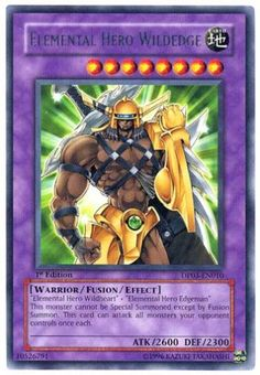 Yu-Gi-Oh! - Elemental Hero Wildedge (DP03-EN010) - Duelist Pack 3 Jaden Yuki 2 - 1st Edition - Rare Yu-Gi-Oh!,http://www.amazon.com/dp/B0018C7W64/ref=cm_sw_r_pi_dp_NZy.sb1M7MVF0F4E