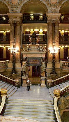 Opéra, Palais Garnier - Grand Staircase