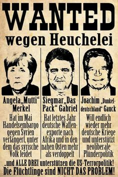 #Demokraten #Demokratie #Deutschland #Merkel #Gauck #Gabriel #Pack #Politik