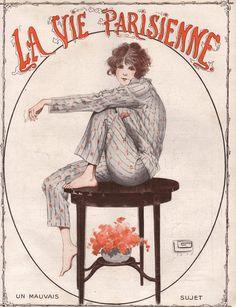 Georges Léonnec (1881 – 1940). La Vie Parisienne, 1919. [Pinned 22-i-2015]