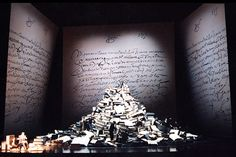 Don Quijote. Teatro Real, Madrid. Scenic design by Herbert Wernicke. 1999