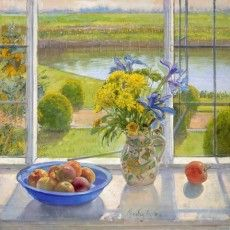 Still Life Pictures by Timothy Easton from The Jerram Gallery, Sherborne, Dorset. Contemporary British pictures and sculpture