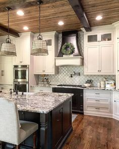 Metal buildings shops with color schemes and garage buildings ohio - Check Out THE PICTURE for Many Tips and Ideas. Kitchen Redo, Rustic Kitchen, New Kitchen, Kitchen Remodel, Kitchen Dining, Kitchen Ideas, Kitchen Designs, Farmhouse Baskets, Rustic Farmhouse