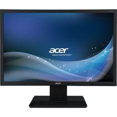 "Acer - 22"" LED Monitor - Black, V226WLBMD"