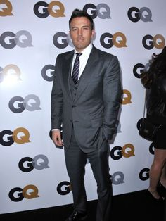 A clean-shaven Ben Affleck at the #GQ Men Of The Year Party at Chateau Marmont on November 13, 2012 in Los Angeles.