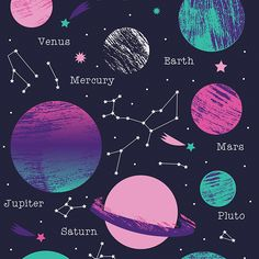Free Printable Galaxy Papers with Craft Tutorial Galaxy Crafts, Diy Galaxy, Galaxy Art, Galaxy Room, Galaxy Space, Galaxy Nursery, Planets Wallpaper, Galaxy Wallpaper, Space Party