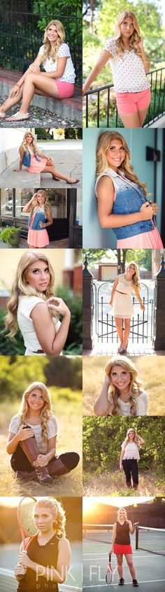 Pink Fly Photography >>  Katie |  Lovejoy High School Senior Photographer  #senior #seniorphotography #tennis #highschool
