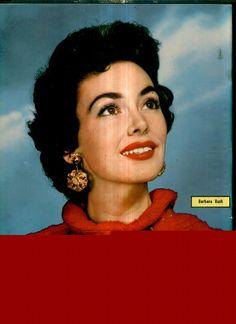 Barbara Rush - Cine-Fan Magazine Pictorial [Brazil] (April 1957)