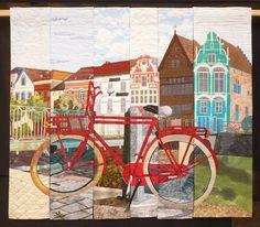 """Haverwarf Mechelen"" - the Slice Quilt Project of a quilt group in Belgium"