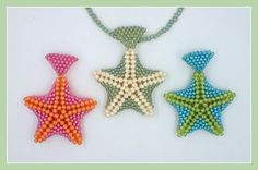 Kelly from Off the Beaded Path, in Forest City, North Carolina shows you how make a starfish pendant made out of seed beads. We have materials used to make t...