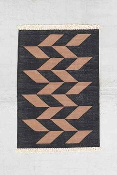 Bohem Woven Polygonic Rug - Urban Outfitters