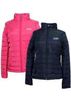 Concordia University Wisconsin Falcons Women's Puffer Coat CLEARANCE $19.99