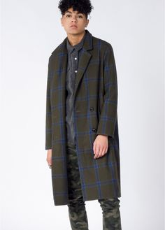 Fraser Coat—With a timeless tartan print and premium construction, this coat reigns supreme. This style is a perfect statement piece for any blustery day. By JOA, available at www.wildfang.com