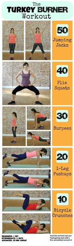 The Turkey Burner Workout www.gymra.com/... #fitness #exercise #weightloss #diet #fitspiration #fitspo #health