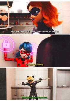 by Naty LV about Miraculous: Tales of Ladybug & Cat Noir - Umm… Chat? - by Naty LV about Miraculous: Tales of Ladybug & Cat Noir – Umm… Chat? Would you mind explain w - Ladybug E Catnoir, Ladybug Und Cat Noir, Ladybug Comics, Ladybug Cakes, Lady Bug, Bugaboo, Foto Gif, Catty Noir, Adrien Agreste