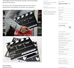 Klappe und Film ab – Notizbuch #notebook #diary #stationery #notizbuch #tagebuch #papier #notizbuchblog #brandbook