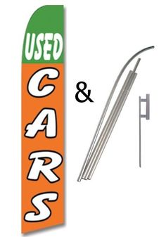 Pack of 3 Automotive Repair,30k 60k 90k Maintenance Service Welcome King Swooper Feather Flag Sign Kit with Pole and Ground Spike