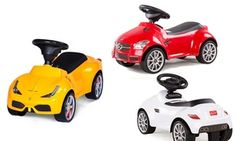 Licensed Mercedes, Ferrari or Porsche Ride-On with Storage and Sounds for £32.99 (45% Off)