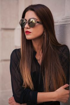 The Energy Of New York City — Negin Mirsalehi. I have a slight obsession with sunglasses!