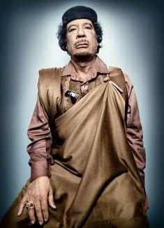 Muammar Gadaffi | Studio Platon