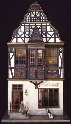 Tudor dollhouse - Tudor Inspiration Pictures - Gallery - The Greenleaf Miniature Community