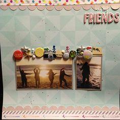 Love My Friends - Scrapbook.com