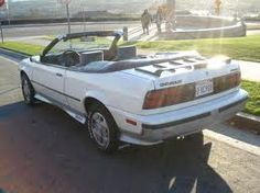 1989 CHEVY CAVALIER Z24 CONVERTIBLE 28 F1 6CYLINDER RED BODY