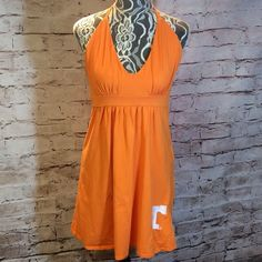 TENNESSEE HALTER DRESS Like new university team apparel halter dress in like new condition Dresses Mini