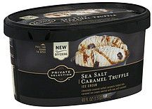 LOVE... KROGER Private Selection .. Sea Salt Carmel Truffle... yum~