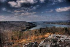 Lake Guntersville From Section Alabama