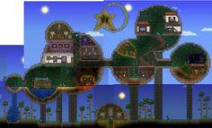 Terraria House Ideas, Craft Things, Digital Art Tutorial, Best Games, Art Tutorials, Pixel Art, Cosmos, Minecraft, Video Games