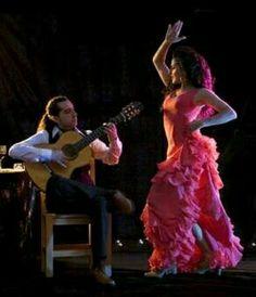 Flamenco on scene.