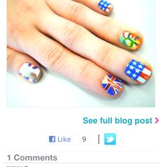 Olympic Nails <3