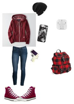 """""""Cold"""" by angelina-tmblr2002 ❤ liked on Polyvore featuring American Eagle Outfitters, Paige Denim, Converse, Coal, Casetify, Aéropostale, women's clothing, women, female and woman"""