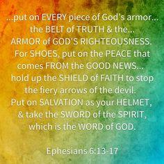 Eph 6:13-17